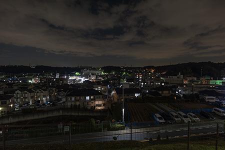 岡津南第二公園の夜景