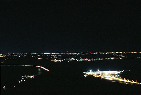 奥浜名湖展望公園の夜景