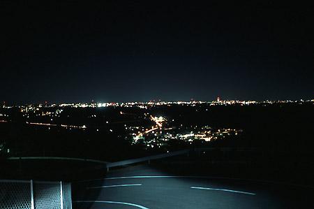奥浜名湖道路の夜景