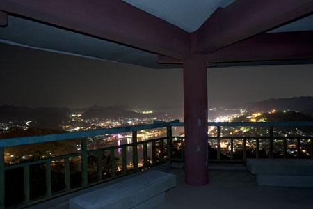 浄土寺奥の院 展望台の夜景