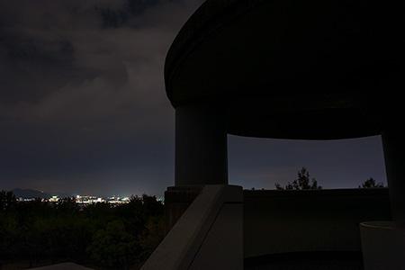 龍田御野立所公園の夜景