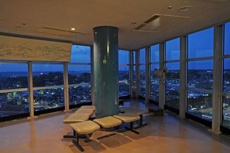 大洗マリンタワーの夜景