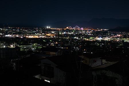 大明見の夜景