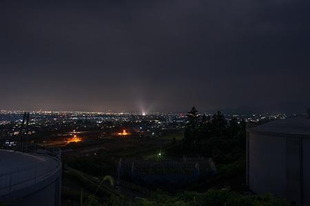 大寺桜ヶ丘公園の夜景