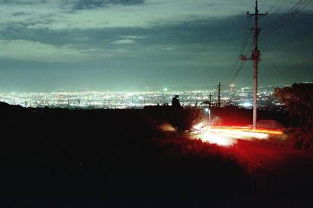 大河原の夜景