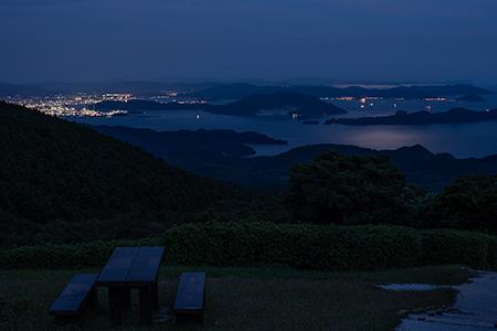 大平山の夜景