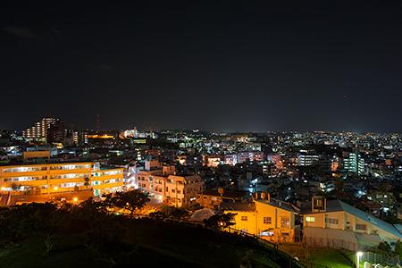 大石公園の夜景