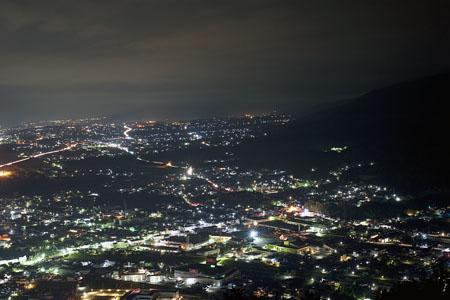 大城山の夜景
