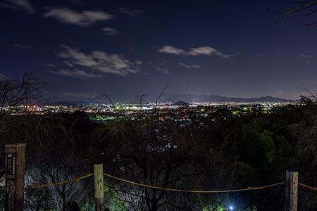 大美和の杜 展望台の夜景
