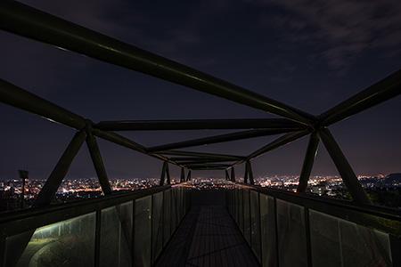 まどかパーク(大野城総合公園)の夜景