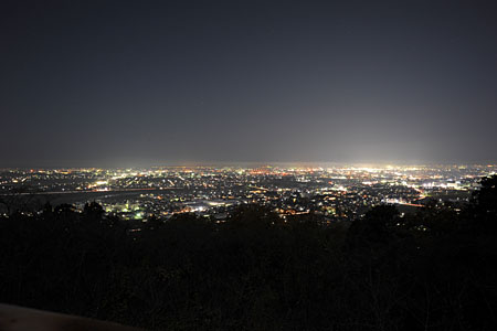 大崎山公園の夜景