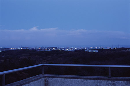 大曽公園の夜景
