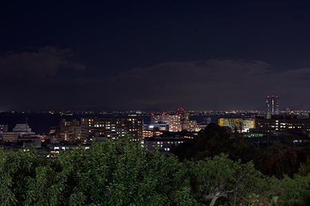 大津SA(上り)の夜景
