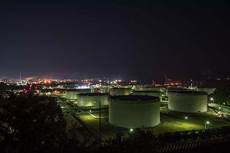 大剣公園の夜景