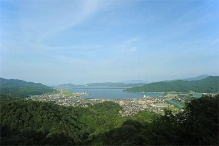 大内峠一字観公園の夜景