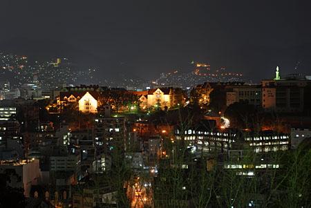 大浦展望公園の夜景