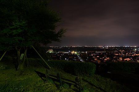 大山公園の夜景