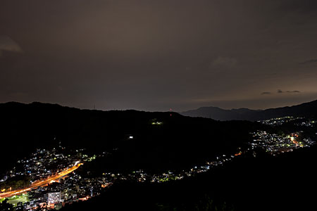 大空山公園の夜景