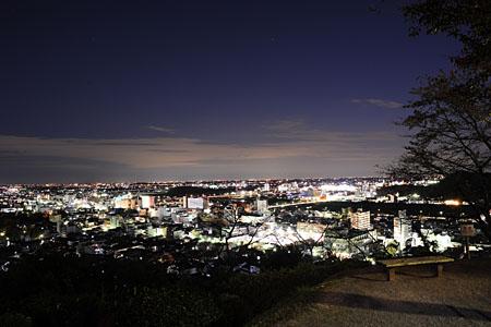 織姫公園の夜景