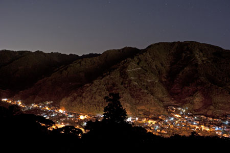 小坂の夜景