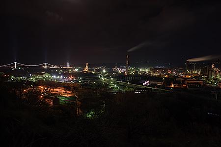 大沢町の夜景