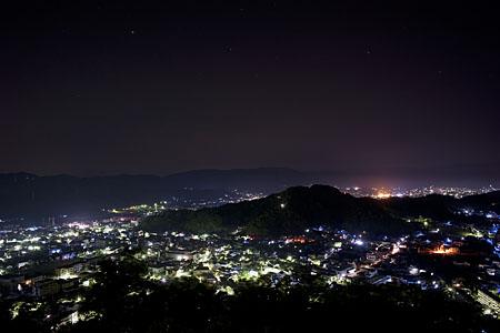 大佐山の夜景