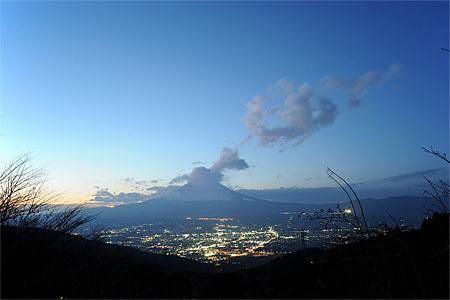 乙女峠の夜景