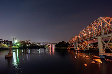 扇橋の夜景