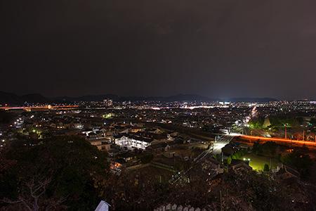 生石神社の夜景