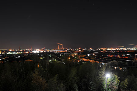 オナーズヒル白梅の丘 展望公園の夜景