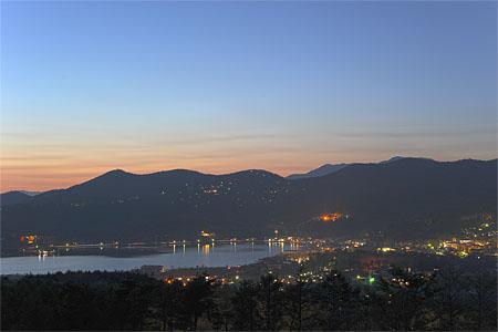 パノラマ台の夜景