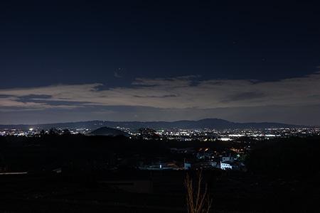 オーベルジュ・ド・ぷれざんす 桜井(磐余の邑)の夜景