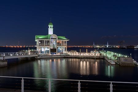 ぷかり桟橋の夜景