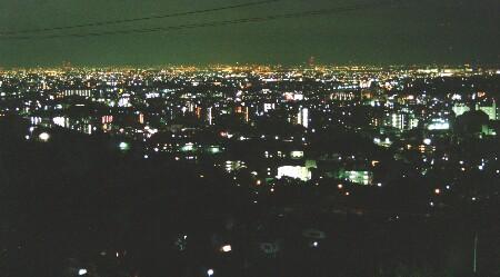ラビスタ宝塚の夜景