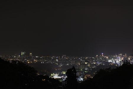ラクテンチの夜景