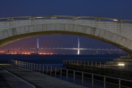 臨港パークの夜景