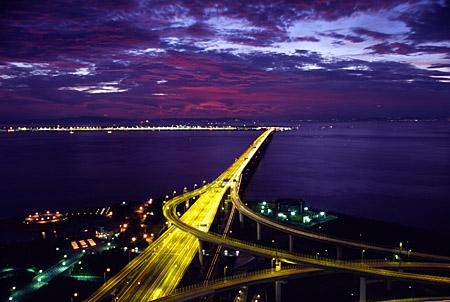 りんくうゲートタワーの夜景