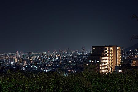 六甲台中公園の夜景