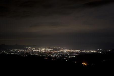県道30号線の夜景