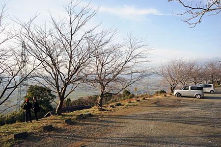 龍峯山自然公園の夜景