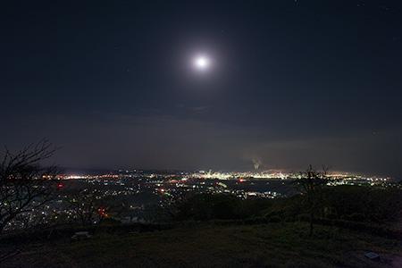 竜王山公園の夜景
