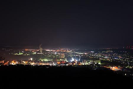 夜景100選「竜王山公園」