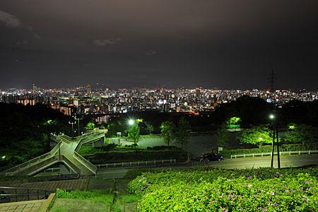 竜王公園の夜景