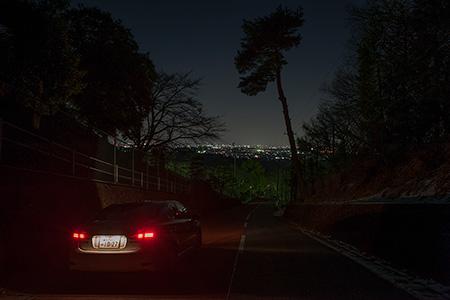 相模野C.C.の夜景