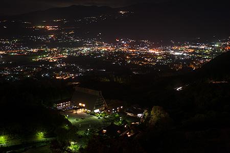 狭霧台の夜景