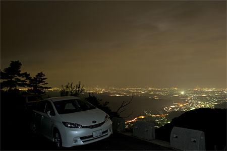 犀鶴林道の夜景