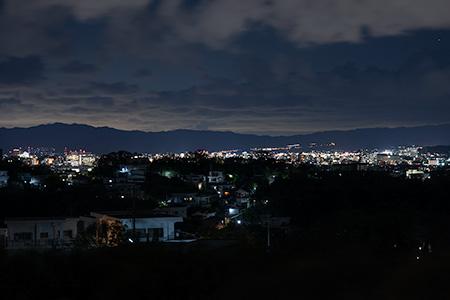 雑賀崎灯台の夜景