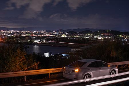 雑賀崎 北の夜景
