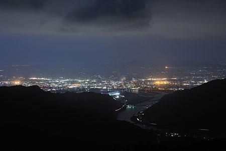 さかもと八竜天文台の夜景