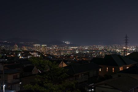 逆瀬台の夜景